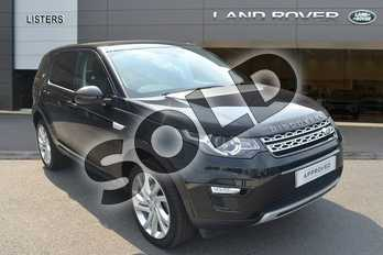 Land Rover Discovery Sport 2.0 TD4 180 HSE 5dr Auto in Santorini Black at Listers Land Rover Hereford