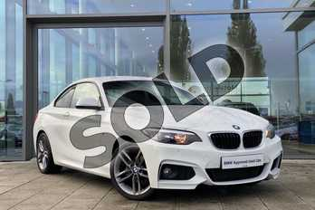 BMW 2 Series 218d M Sport Coupe in Alpine White at Listers King's Lynn (BMW)
