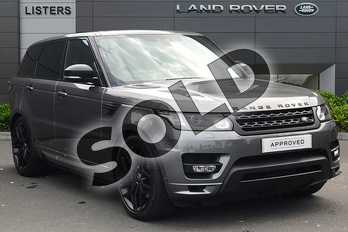 Range Rover Sport 3.0 SDV6 (306) Autobiography Dynamic 5dr Auto in Corris Grey at Listers Land Rover Droitwich
