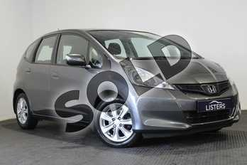 Honda Jazz 1.4 i-VTEC ES 5dr in Metallic - Polished metal at Listers U Stratford-upon-Avon