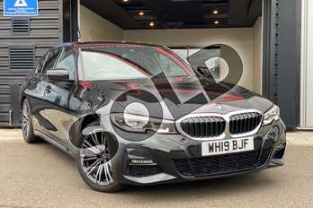 BMW 3 Series 320i M Sport 4dr Step Auto in Black Sapphire metallic paint at Listers King's Lynn (BMW)