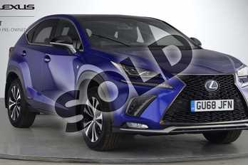 Lexus NX 300h 2.5 F-Sport 5dr CVT (Premium Pack/Leather) in Sapphire Blue at Lexus Lincoln