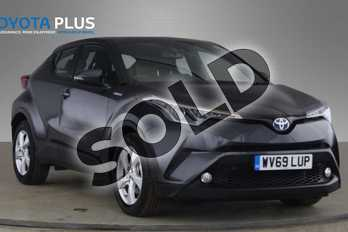 Toyota C-HR 1.8 Hybrid Icon 5dr CVT in Decuma Grey at Listers Toyota Coventry