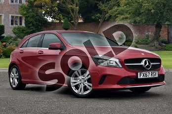 Mercedes-Benz A Class A180 Sport 5dr in Jupiter Red at Mercedes-Benz of Lincoln