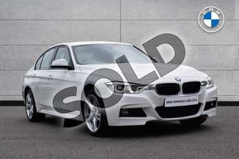 BMW 3 Series 330d xDrive M Sport 4dr Step Auto in Alpine White at Listers Boston (BMW)