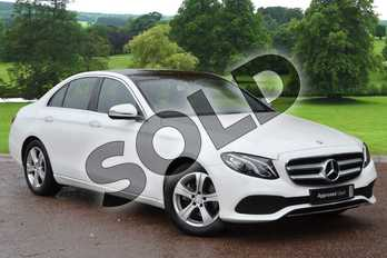 Mercedes-Benz E Class E220d SE Premium 4dr 9G-Tronic in Polar White at Mercedes-Benz of Grimsby