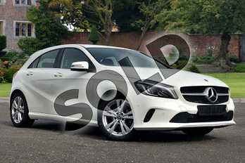 Mercedes-Benz A Class A180d Sport Premium 5dr in Cirrus White at Mercedes-Benz of Lincoln