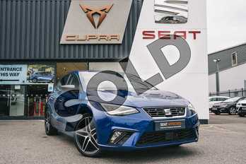 SEAT Ibiza 1.0 TSI 95 FR (EZ) 5dr in Mystery Blue at Listers SEAT Coventry