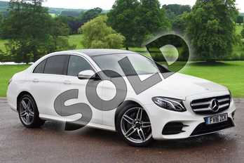 Mercedes-Benz E Class E220d AMG Line Premium 4dr 9G-Tronic in designo diamond white at Mercedes-Benz of Grimsby