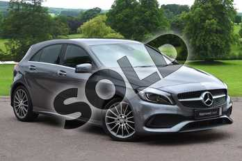 Mercedes-Benz A Class A180d AMG Line Premium 5dr Auto in Mountain Grey at Mercedes-Benz of Grimsby