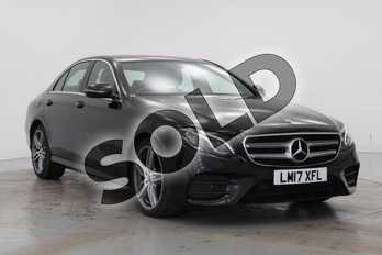 Mercedes-Benz E Class E220d AMG Line 4dr 9G-Tronic in Obsidian Black Metallic at Mercedes-Benz of Grimsby