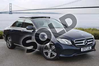 Mercedes-Benz E Class E220d SE Premium 4dr 9G-Tronic in Cavansite blue Metallic at Mercedes-Benz of Grimsby