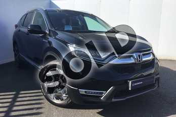 Honda CR-V 2.0 i-MMD Hybrid EX 5dr eCVT in Crystal Black at Listers Honda Solihull