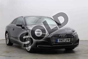 Audi A5 3.0 TDI 286 Quattro S Line 2dr Tiptronic in Manhattan Grey Metallic at Birmingham Audi