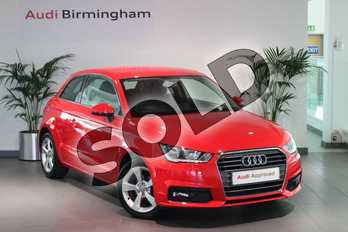 Audi A1 1.0 TFSI Sport 3dr in Misano Red Pearlescent at Birmingham Audi