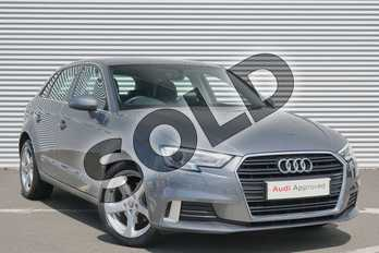 Audi A3 30 TFSI 116 Sport 5dr in Monsoon Grey Metallic at Coventry Audi