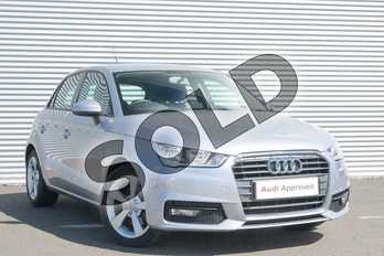 Audi A1 1.4 TFSI Sport 5dr in Floret Silver Metallic at Coventry Audi