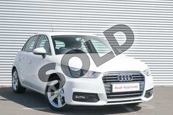 Audi A1 1.4 TFSI Sport 5dr in Shell White at Coventry Audi