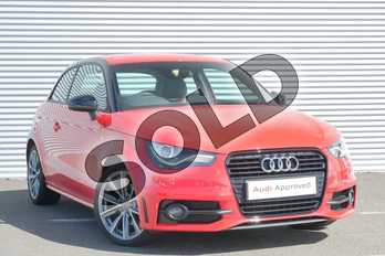 Audi A1 1.4 TFSI S Line Style Edition 3dr in Misano Red, pearl effect at Coventry Audi