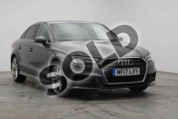 Audi A3 1.4 TFSI S Line 4dr in Daytona Grey Pearlescent at Worcester Audi