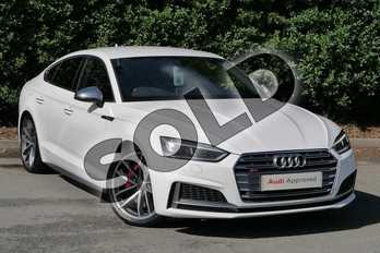 Audi A5 S5 Quattro 5dr Tiptronic in Ibis White at Worcester Audi
