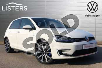 Volkswagen Golf 1.4 TSI GTE 5dr DSG in Pure white at Listers Volkswagen Coventry