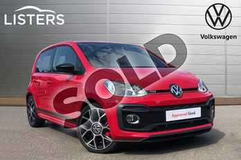 Volkswagen Up 1.0 115PS Up GTI 5dr in Tornado Red at Listers Volkswagen Coventry
