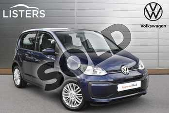 Volkswagen Up 1.0 Move Up 5dr in Blueberry at Listers Volkswagen Evesham