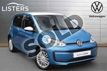 Volkswagen Up 1.0 Move Up 5dr in Costa Azul at Listers Volkswagen Evesham