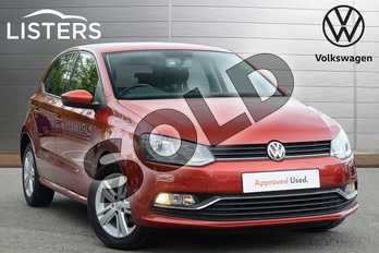 Volkswagen Polo 1.2 TSI Match 5dr in Carmen Red at Listers Volkswagen Leamington Spa