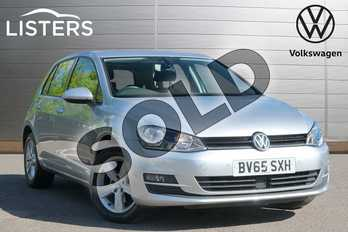 Volkswagen Golf 1.4 TSI Match 5dr in Reflex silver at Listers Volkswagen Leamington Spa