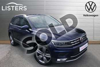 Volkswagen Tiguan 2.0 TSI 180 4Motion SEL 5dr in Atlantic Blue at Listers Volkswagen Worcester