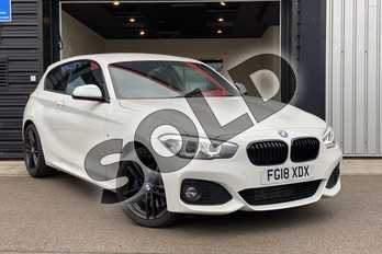 BMW 1 Series 118d M Sport Shadow Ed 3dr Step Auto in Alpine White at Listers King's Lynn (BMW)