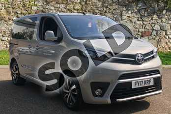 Toyota PROACE VERSO 2.0D 180 Family Compact 5dr Auto in Grey at Listers Toyota Boston