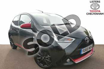 Toyota AYGO 1.0 VVT-i X-Press 5dr in Bold Black at Listers Toyota Cheltenham