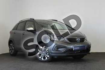 Honda Jazz 1.5 i-MMD Hybrid Crosstar EX 5dr eCVT in Shining Grey at Listers Honda Stratford-upon-Avon