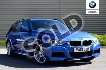 BMW 3 Series 320i xDrive M Sport 5dr in Estoril Blue at Listers Boston (BMW)