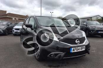 Nissan Note 1.2 DiG-S Tekna 5dr (Style Pack) in Metallic - Pearl black at Listers Toyota Lincoln
