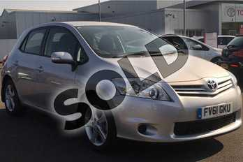 Toyota Auris 1.33 Dual VVTi Edition 5dr in Silver at Listers Toyota Lincoln