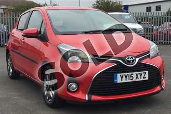 Toyota Yaris 1.33 VVT-i Icon 5dr in Chilli Red at Listers Toyota Lincoln