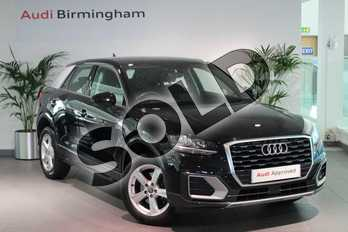 Audi Q2 1.0 TFSI Sport 5dr in Myth Black Metallic at Birmingham Audi