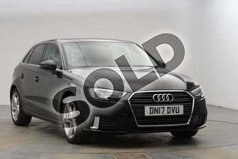 Audi A3 1.4 TFSI Sport 5dr in Myth Black Metallic at Birmingham Audi