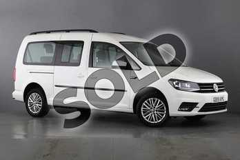 Volkswagen Caddy Maxi Life 2.0 TDI 5dr in Candy White at Listers Volkswagen Van Centre Worcestershire