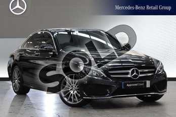 Mercedes-Benz C Class C200d AMG Line Premium 4dr Auto in Obsidian Black Metallic at Mercedes-Benz of Grimsby