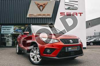 SEAT Arona 1.6 TDI 115 SE Technology Lux 5dr in Red at Listers SEAT Coventry