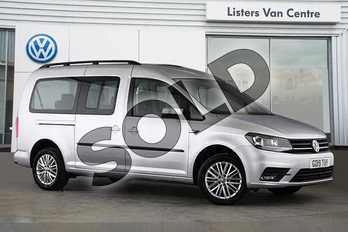 Volkswagen Caddy Maxi Life 2.0 TDI 5dr in Reflex silver at Listers Volkswagen Van Centre Coventry