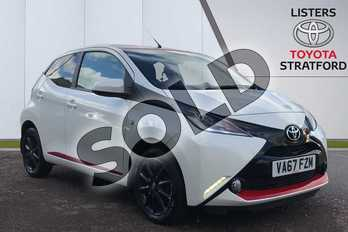 Toyota AYGO 1.0 VVT-i X-Style 5dr in White at Listers Toyota Stratford-upon-Avon