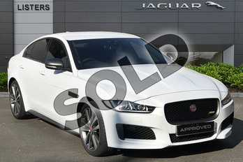 Jaguar XE 2.0 i4 Petrol (300PS) 300 SPORT AWD in Yulong White at Listers Jaguar Droitwich