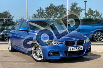 BMW 3 Series 330e M Sport 4dr Step Auto in Estoril Blue at Listers King's Lynn (BMW)