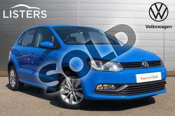 Volkswagen Polo 1.0 SE 5dr in Mayan Blue at Listers Volkswagen Coventry